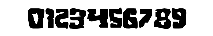 Beastian Expanded Font OTHER CHARS