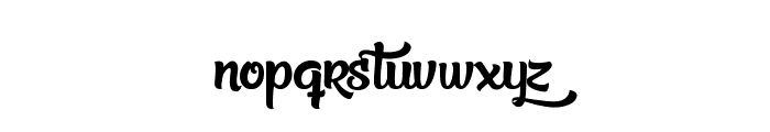 Beauty in the Ordinary Font LOWERCASE