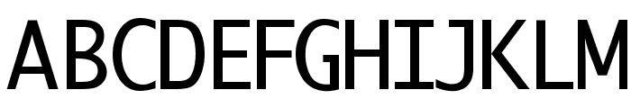 BerlinSmallCaps Font UPPERCASE