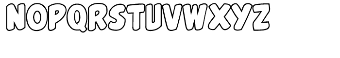 Belly Laugh Intl Open Font LOWERCASE