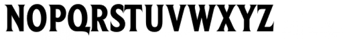 Beaufort Condensed Heavy Font UPPERCASE