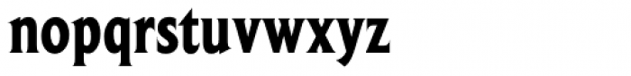 Beaufort Condensed Heavy Font LOWERCASE