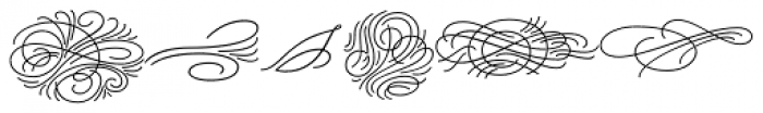 Beloved Ornaments Font LOWERCASE
