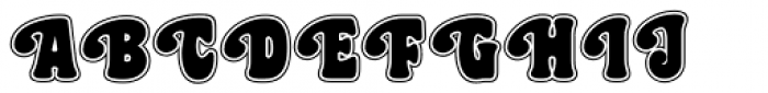 Best Gal Veronica NF Font UPPERCASE