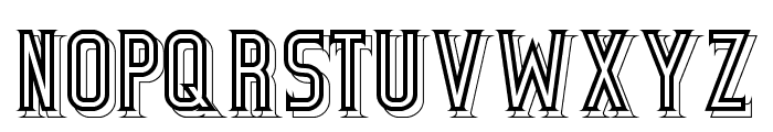 BicycleFancy Font LOWERCASE