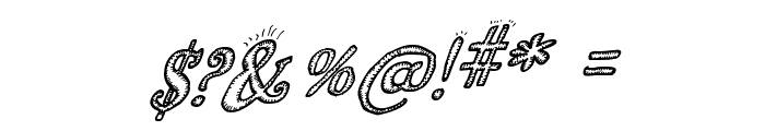 Biscuit Made Italic Font OTHER CHARS