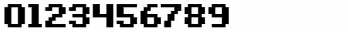 Bitblox Embiggened Font OTHER CHARS