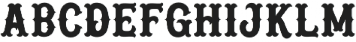 Blastrick Special otf (400) Font LOWERCASE