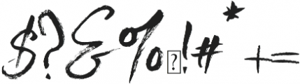 Bloom of Life otf (400) Font OTHER CHARS