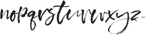 Bloom of Life otf (400) Font LOWERCASE