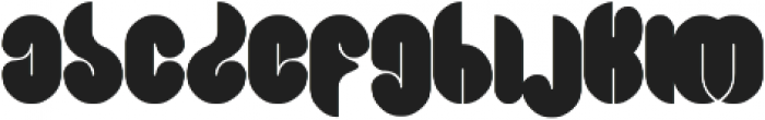 Blowing Bubble ttf (400) Font LOWERCASE