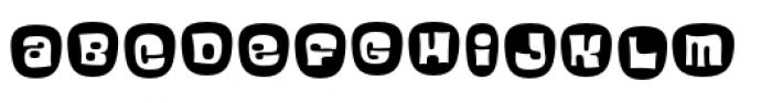 Blackcurrant Pro Cameo Font LOWERCASE