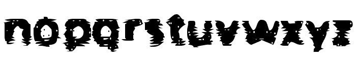 BN-Gangsters Font LOWERCASE