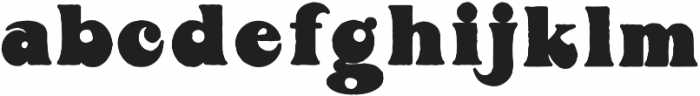 Boogie Regular Regular otf (400) Font LOWERCASE