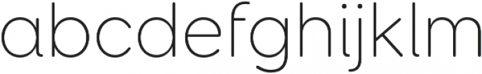 Booster Next FY Thin otf (100) Font LOWERCASE