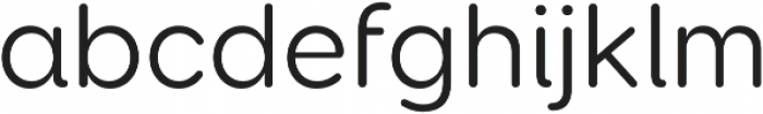 Booster Next FY otf (400) Font LOWERCASE