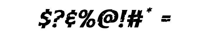 Body Swipers Italic Font OTHER CHARS