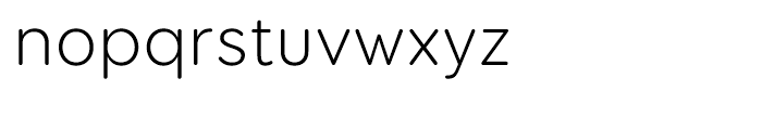 Booster Next FY Light Font LOWERCASE