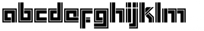 Box In Font LOWERCASE