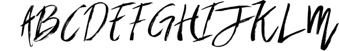 Brownight 3 Font UPPERCASE