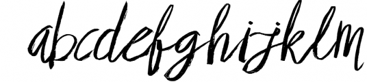 Brownight 3 Font LOWERCASE