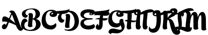 Bready Clockwise Demo Font UPPERCASE