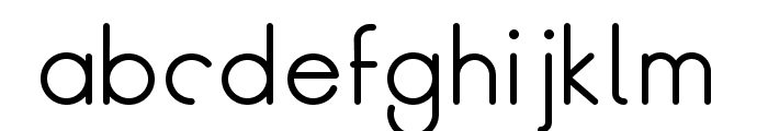 BreakFill-Bold Font LOWERCASE