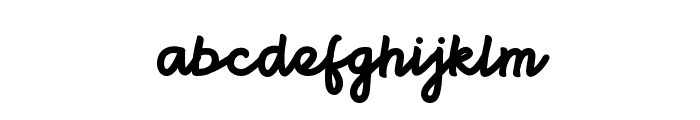 Brightbeautynormal Font LOWERCASE