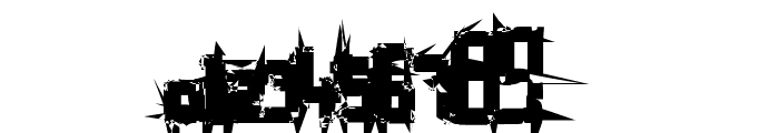 Bruised Hundred Font OTHER CHARS