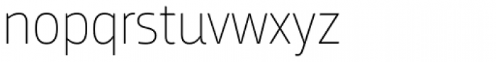 Breakers Thin Font LOWERCASE
