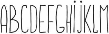 BuddyBear Regular ttf (400) Font UPPERCASE