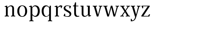 Buozzi Normal Font LOWERCASE