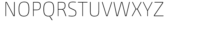 Burlingame Condensed Thin Font UPPERCASE