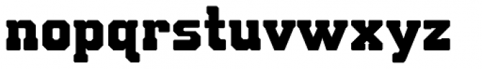 Bunkhouse Font LOWERCASE