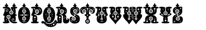 Buxotic Font UPPERCASE