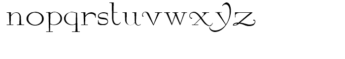By George Titling NF Regular Font LOWERCASE