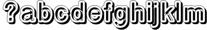 Carbono (family pack) 3 Font LOWERCASE