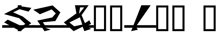 Caddy Font OTHER CHARS