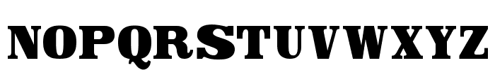 Canberra Font LOWERCASE