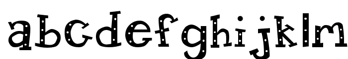 Candy Randy Font LOWERCASE