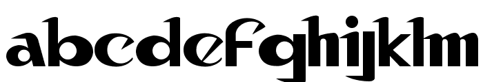 Canon Font LOWERCASE