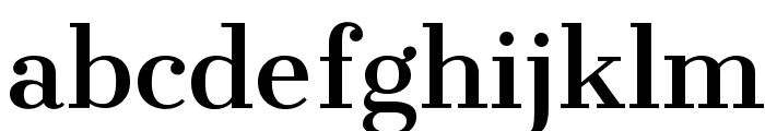 Cantata One Font LOWERCASE