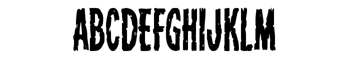 Carnival Corpse Condensed Font LOWERCASE