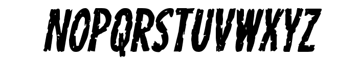 Carnival Corpse Italic Font LOWERCASE