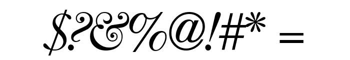 CaslonFiveSSK Italic Font OTHER CHARS