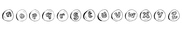 cailloux Font LOWERCASE