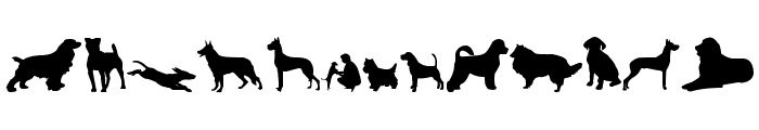 can dog tfb Font UPPERCASE