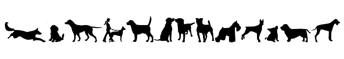 can dog tfb Font LOWERCASE