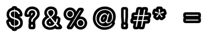 Carbono Bold Font OTHER CHARS
