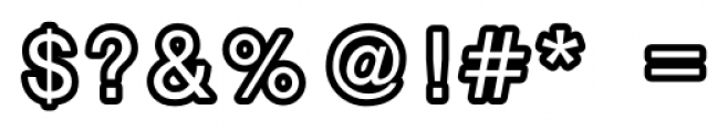 Carbono Regular Font OTHER CHARS